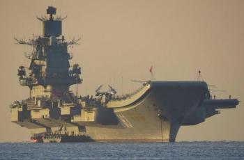Адмирал Кузнецов - тяжёлый авианесущий крейсер (ТАВКР) проекта 0143.5