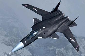 Су-47 «Беркут» - рассейский истребитель