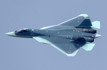 Су-57 (ПАК ФА Т-50) - скональщик пятого поколения