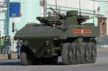 БМП К-17 «ВПК-7829» нате платформе «Бумеранг»