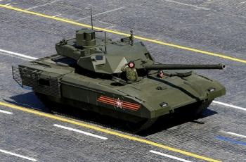 Т-14 «Армата» - современный расейский танк