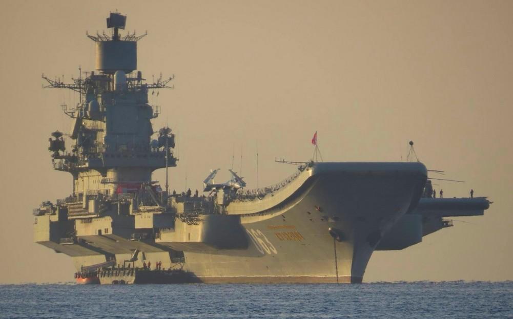 «Адмирал флота Советского Союза Кузнецов» — тяжёлый авианесущий крейсер проекта 0143.5
