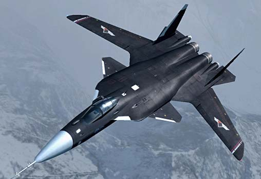 Российский самолет Су-47 Беркут другими словами С-37 Беркут