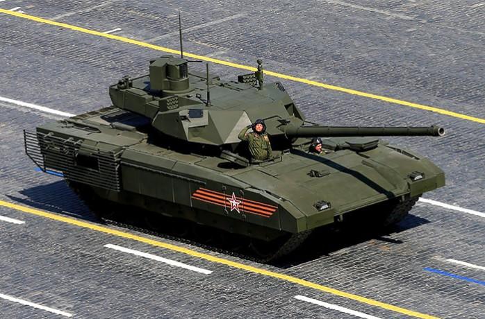 Т-14 «Армата» - неактуальный общероссийский разбитной танк