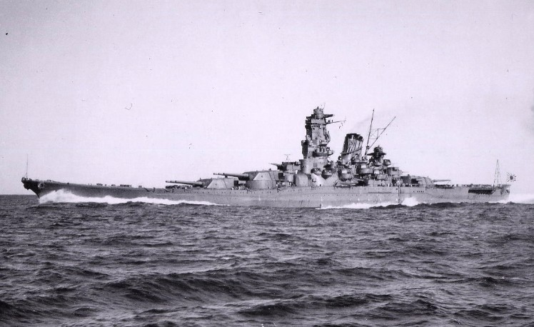 """Японский плавучая крепость """"Ямато"""" - самый крупный на мире"""